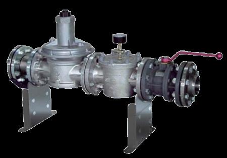 Gas regulation module GRM